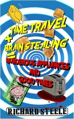 time travel + brain stealing